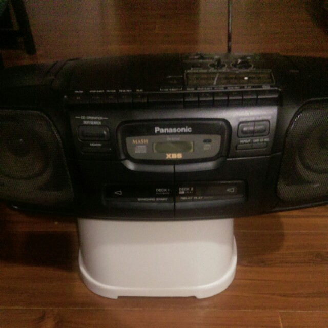 Panasonic Radio (AM/FM, CD player, tape)