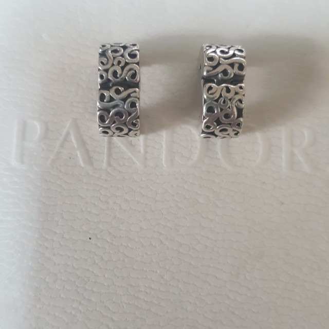 Pandora Serpentine clips