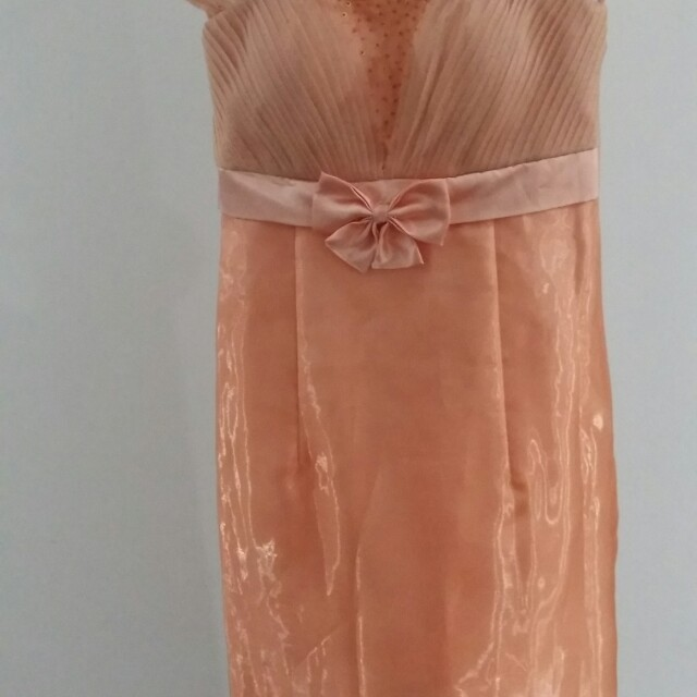 [Special Price] Party gown peach