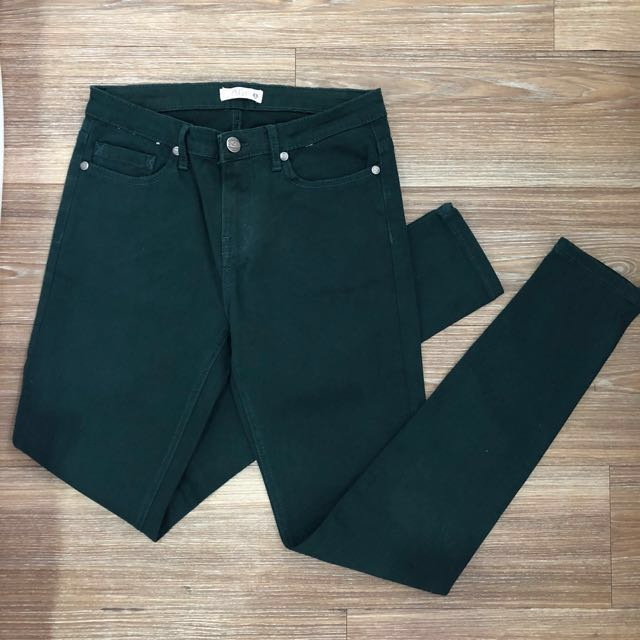P&Co Army Green Ankle Pants