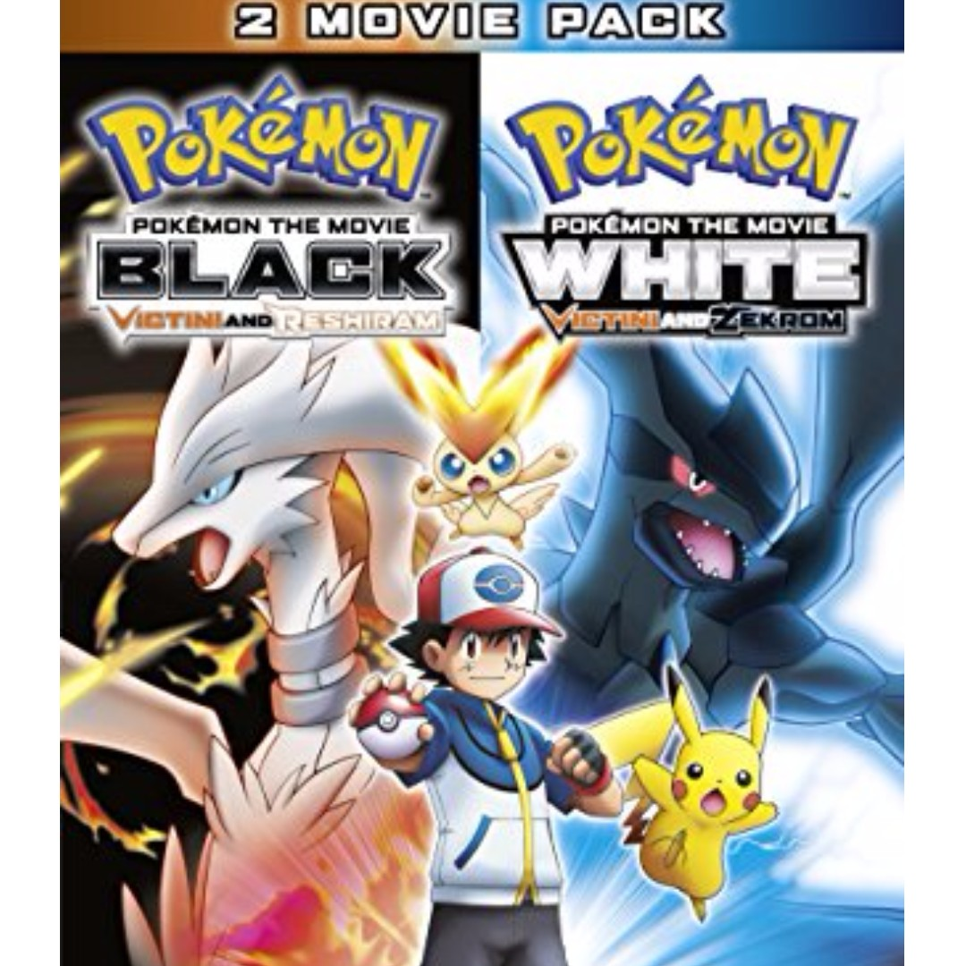 pokemon movie black and white both movies