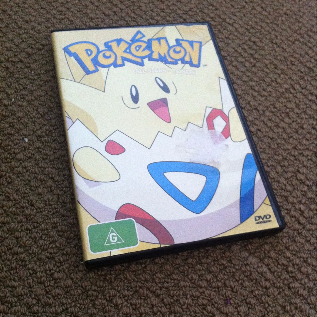 POKEMON TOGEPI DVD