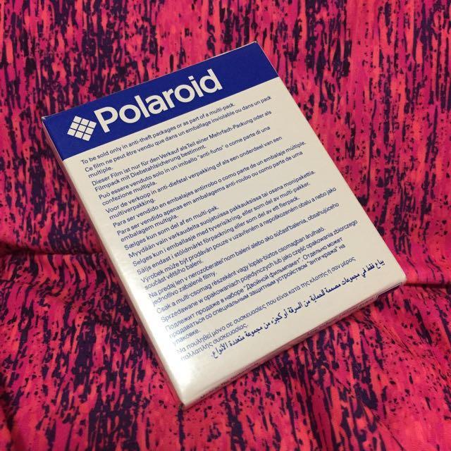 Polaroid 寶麗來600型原廠拍立得底片  非impossible 底片