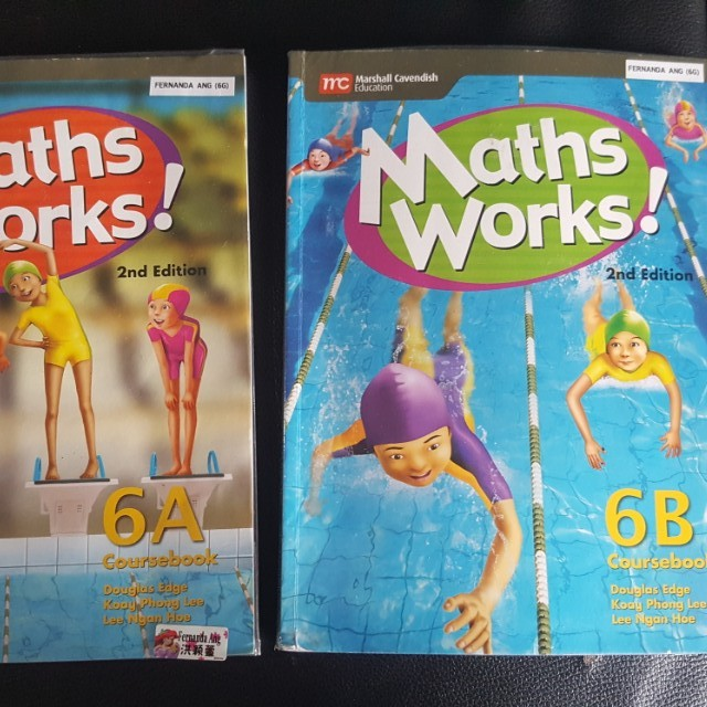 Preloved Math Works! Coursebook (Foundation) P6, Textbooks on Carousell