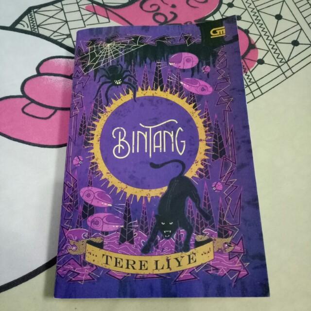 """Preloved Novel """"BINTANG"""" Tere Liye"""