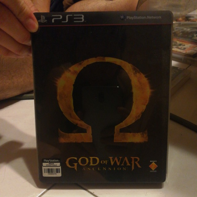 PS3 Game set #5: God Of War 1,2,3, chains of olympus, ghost
