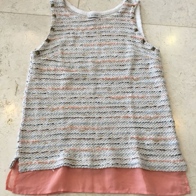 PULL & BEAR Knitted Tank Top