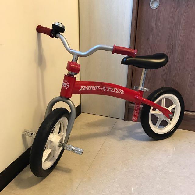 Radio Flyer 平衡車 三輪車 腳踏車 push bike 二手 glide