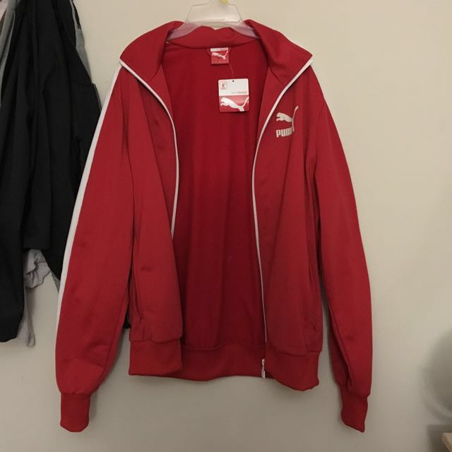 Red puma Sweater / tracksuit  with tag