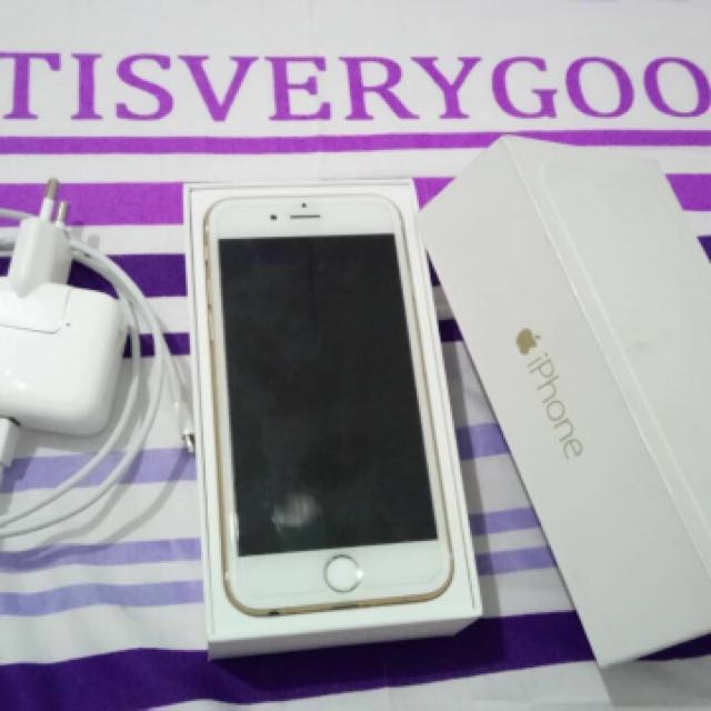 REPRICED!!!Iphone 6 64 gb Factory Unlock Gold (Preloved)