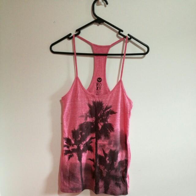 Roxy pink top size sx