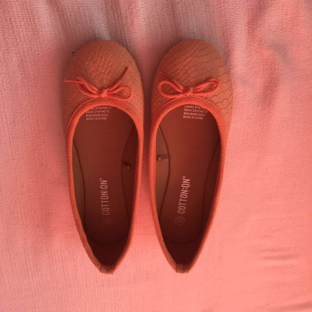 Rubi Light Orange flats