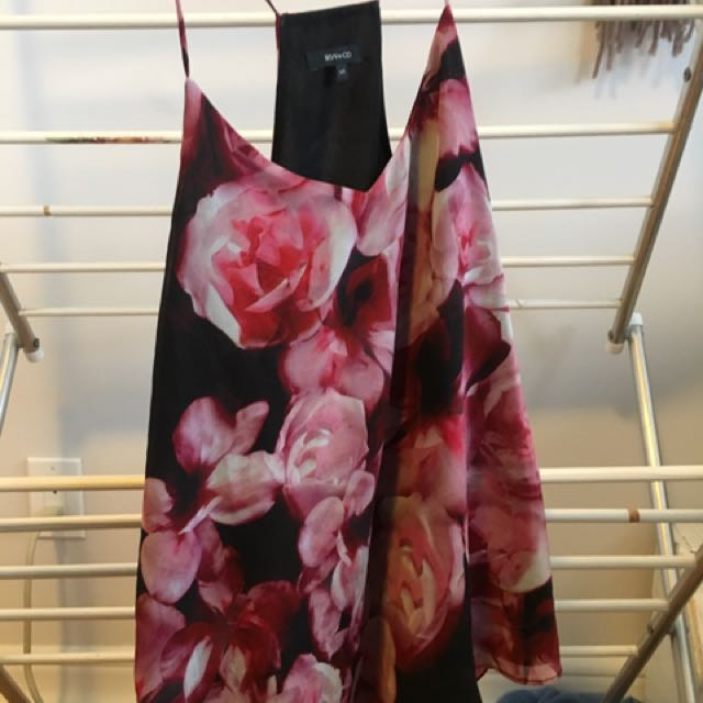 RW&CO floral tank top
