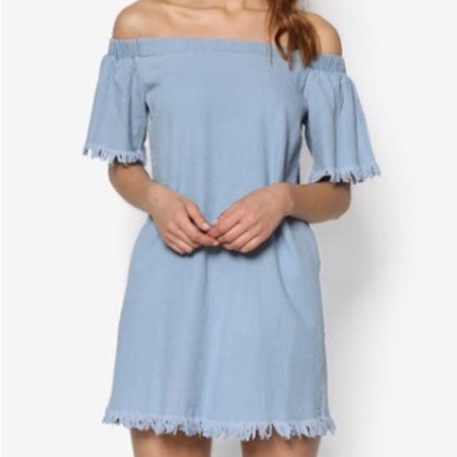 Sabrina Dress - off shoulder dress - dress