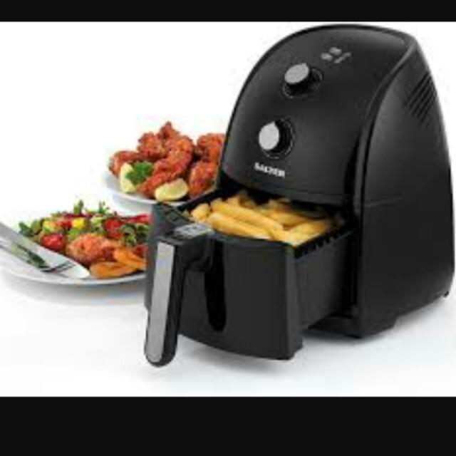 Salter EK2118 Healthy Cooking Air Fryer, Kitchen & Appliances on ...