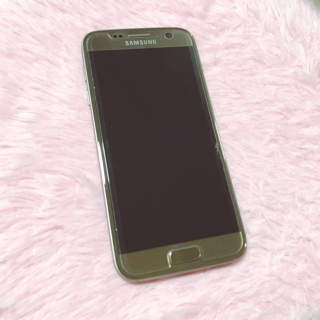 Samsung Galaxy S7 (Gold) #CyberMondaySale