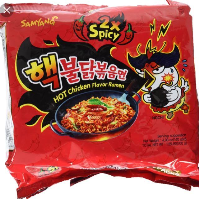 Samyang noodle