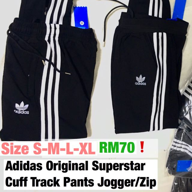 70d5aaefa6d0 Seluar Adidas Track Bottom pant fit