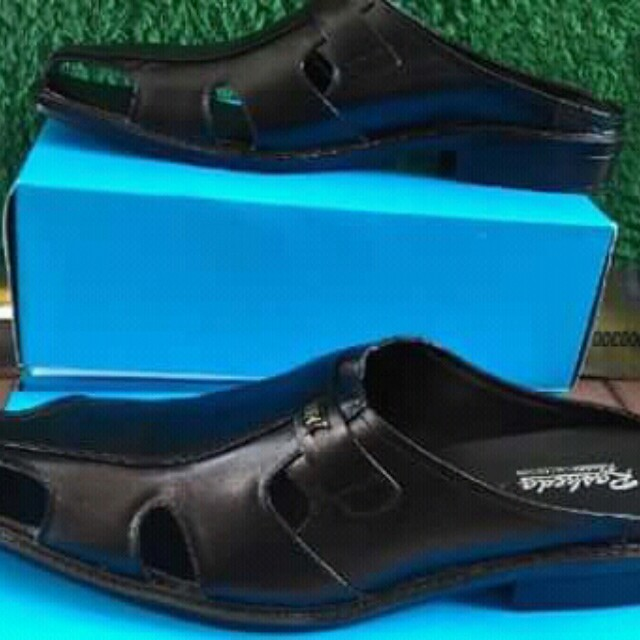 Sepatu sandal pria hand made kulit sapi asli d52a4388d5