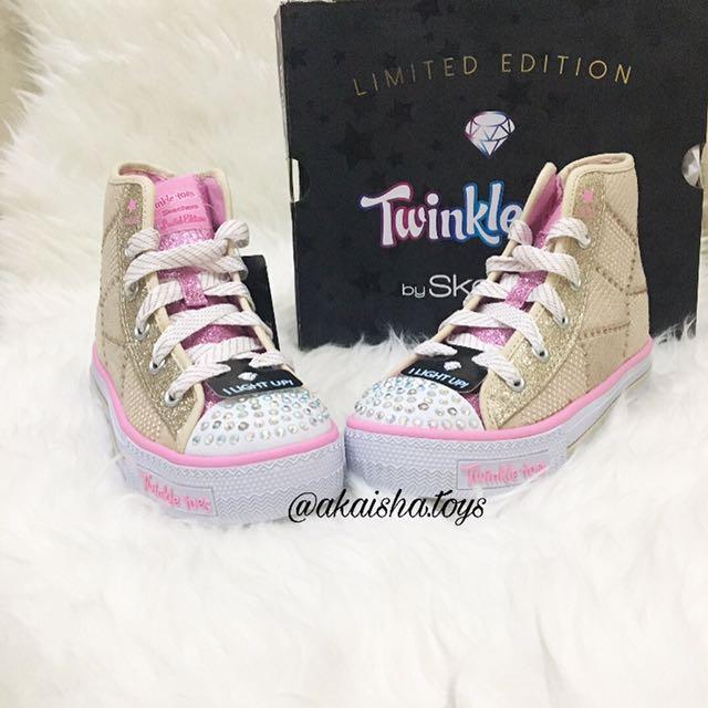 Sepatu Skechers Twinkle Toes Anak Original