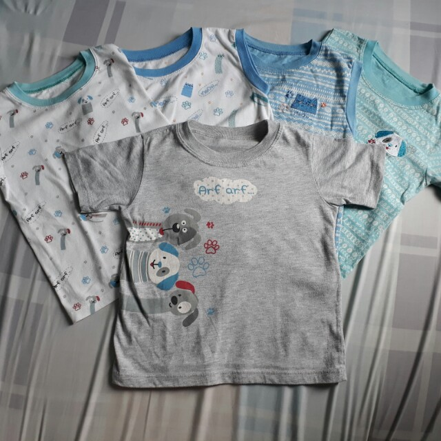 Set of 5 Kids Sleepwear top and bottom Bundle