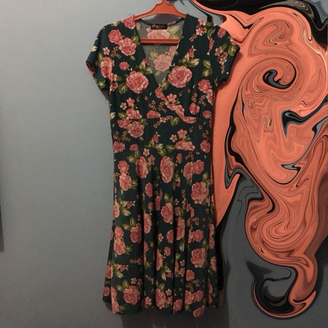 Sexy Floral dress