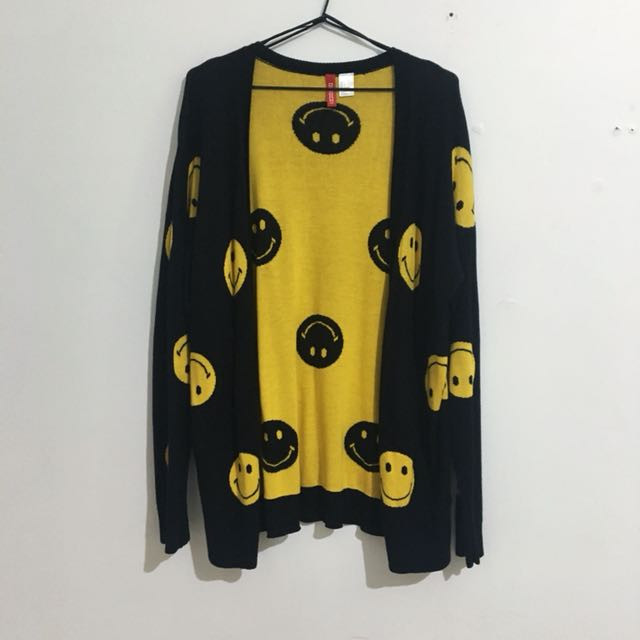 Smiley Face Cardigan