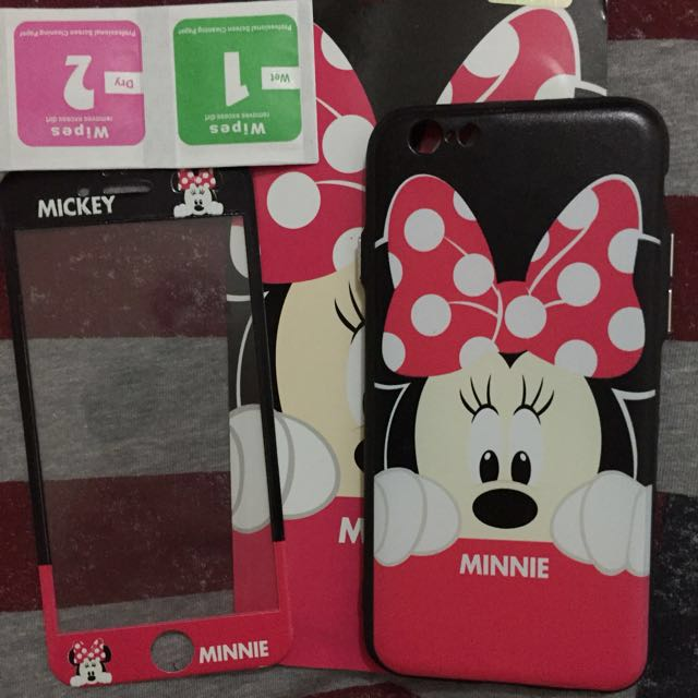 Softcase 360 Full Minnie iP 6/6S
