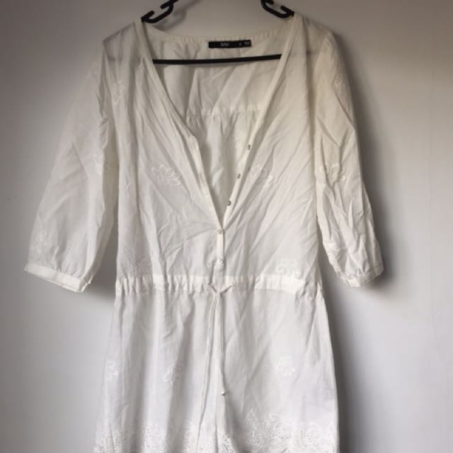 Sportsgirl Off white jumpsuit