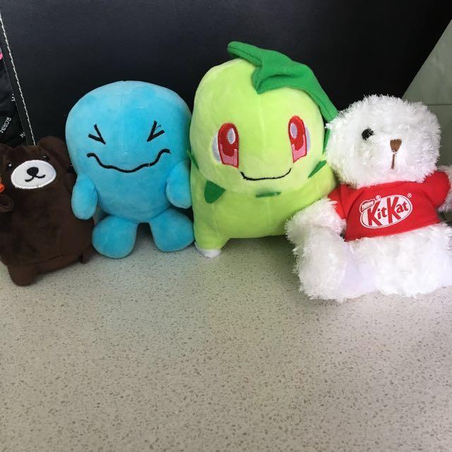 Stuffed toys : Pokémon / teddy bear, Toys & Games, Bricks ...