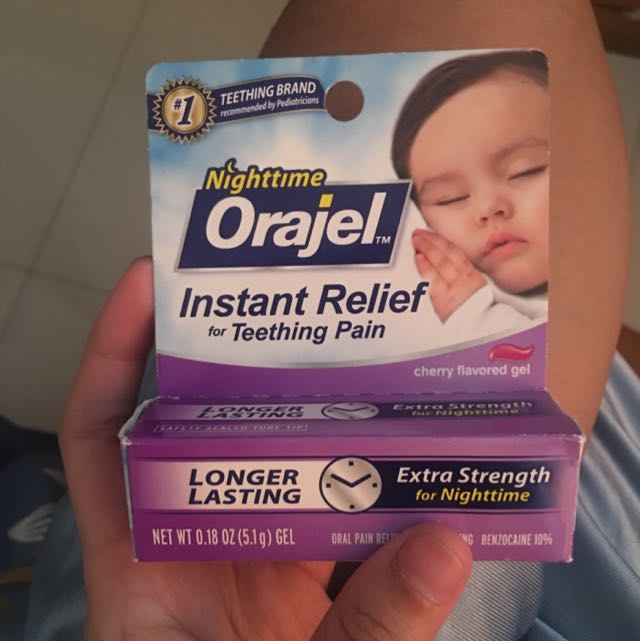 Teething Gel Night Time Orajel