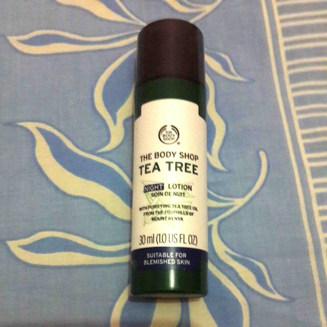 The Body Shop Tea Tree Lotion