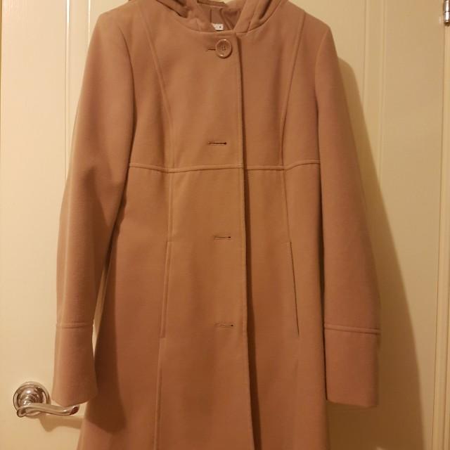 Thick winter coat