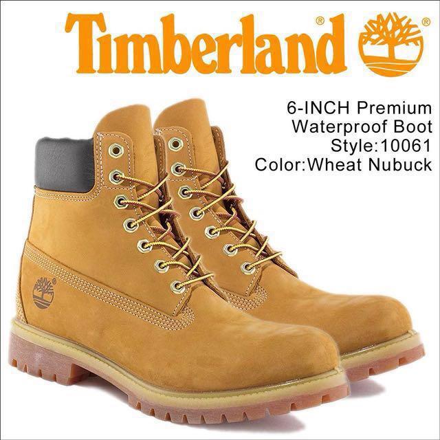 全新-Timberland 經典黃靴