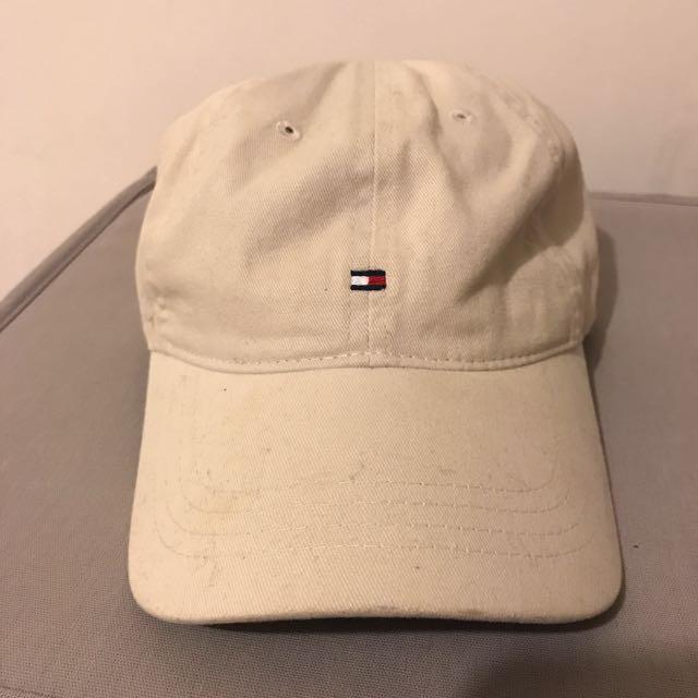 《二手》杏色TOMMY帽