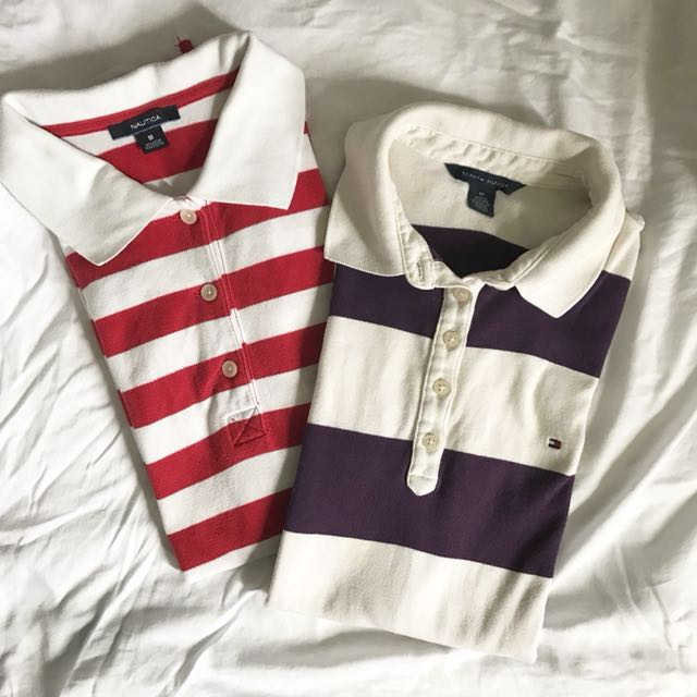Tommy Hilfiger and Nautica Polo