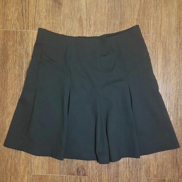 TOPSHOP Black Skirt (Rok)