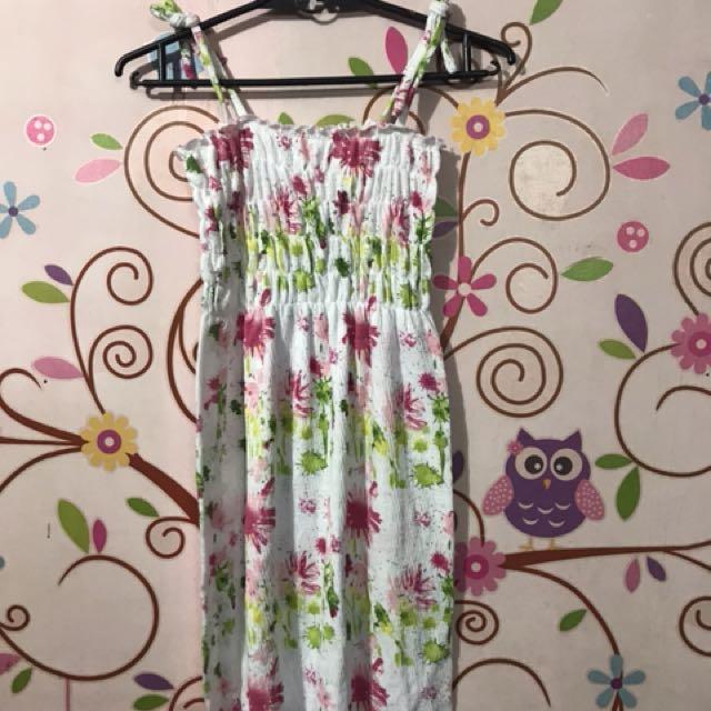 Trendy Garterized Dress