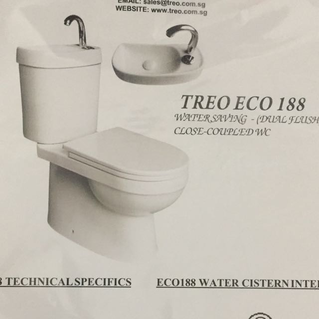 Fabulous Treo Eco 188 Toilet Bowl Dual Flush Home Appliances On Onthecornerstone Fun Painted Chair Ideas Images Onthecornerstoneorg