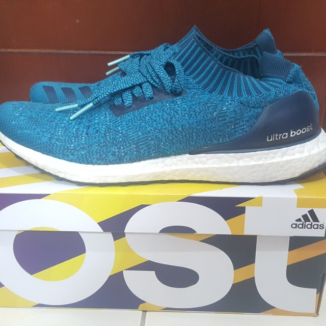 UltraBoost Uncaged Petrol Blue