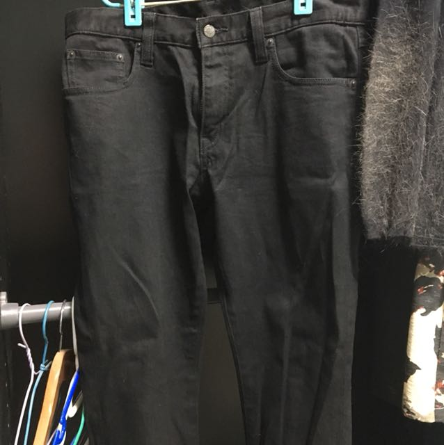 Uniqlo Black Jeans