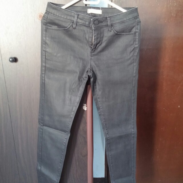 Uniqlo Matte Coated Pants
