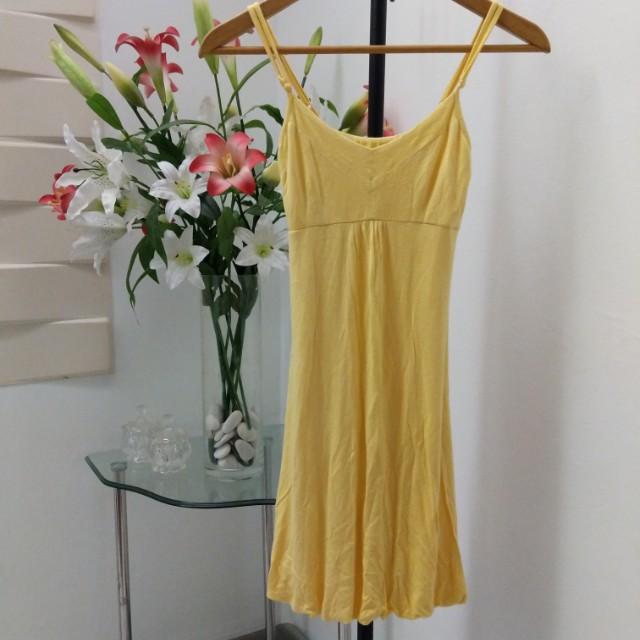 Valleygirl yellow sundress