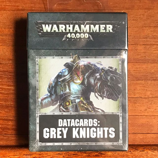 Warhammer 40K 8th Ed GK datacards