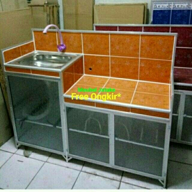 Wastafel Meja Kompor Keramik Kran Plastik Aluminium Rak Home Furniture On Carou
