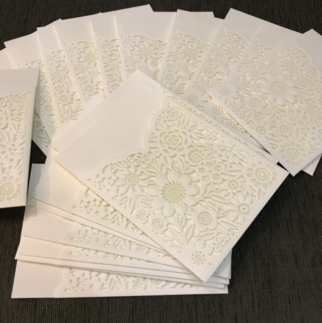 wedding invitation sleeves books stationery stationery on carousell