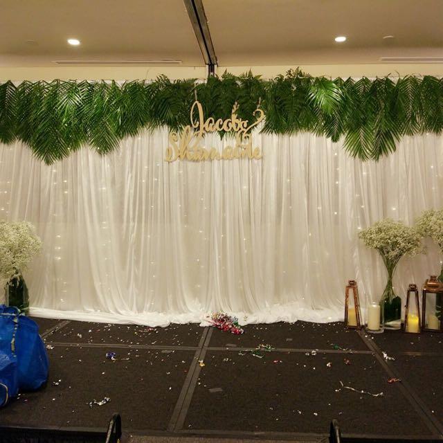 Wedding stage backdrop decor rental design craft others on photo photo photo junglespirit Choice Image