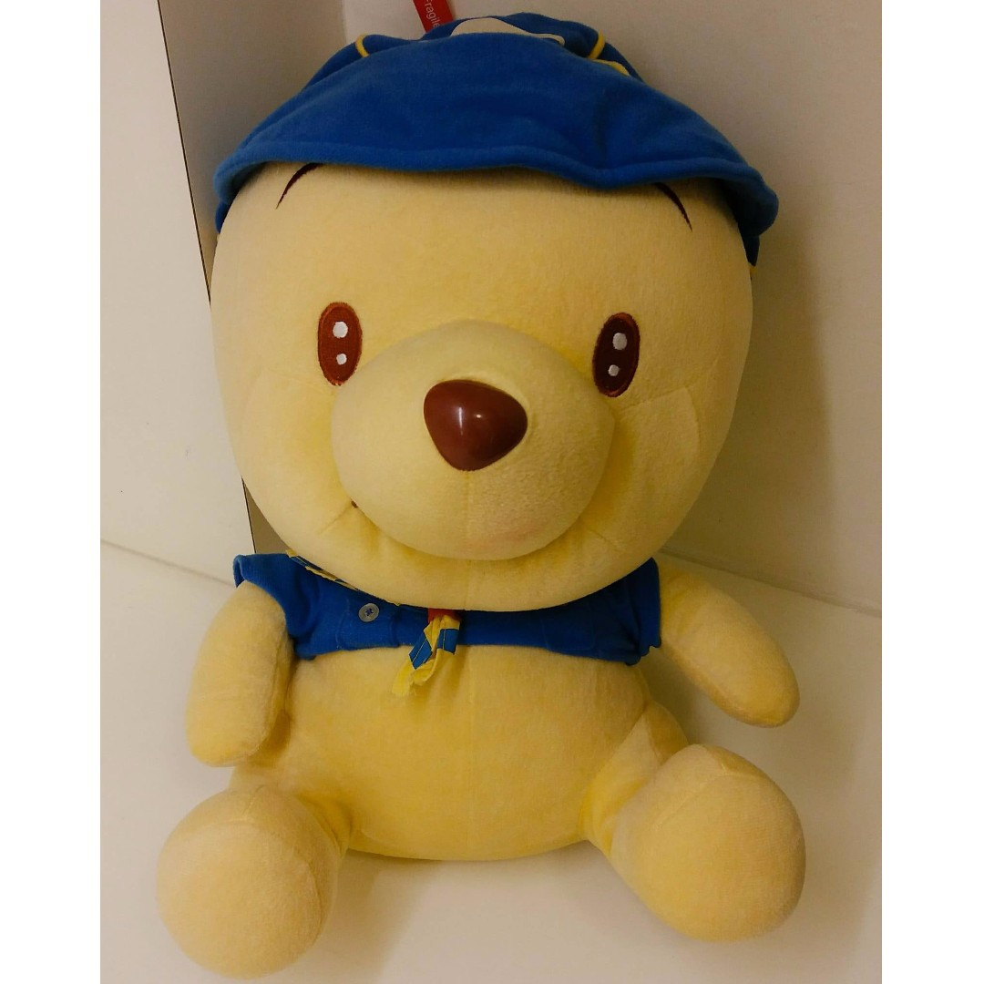 d649fff4fd07 Large Winnie The Pooh Bear Soft Toy Plushy Plushie Original from ...