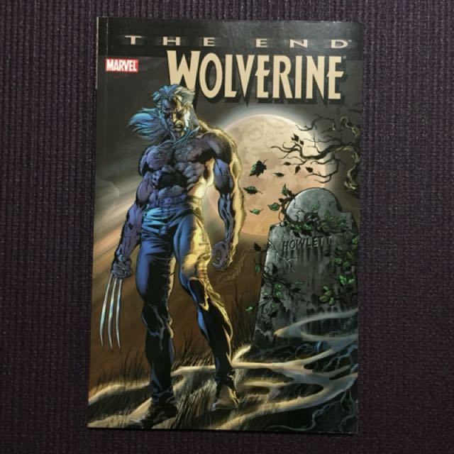 Wolverine The End - Collector's Comic Book