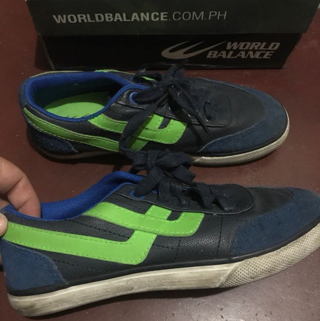 World Balance Ferryman Size Eur 34 US 1 Kids Size